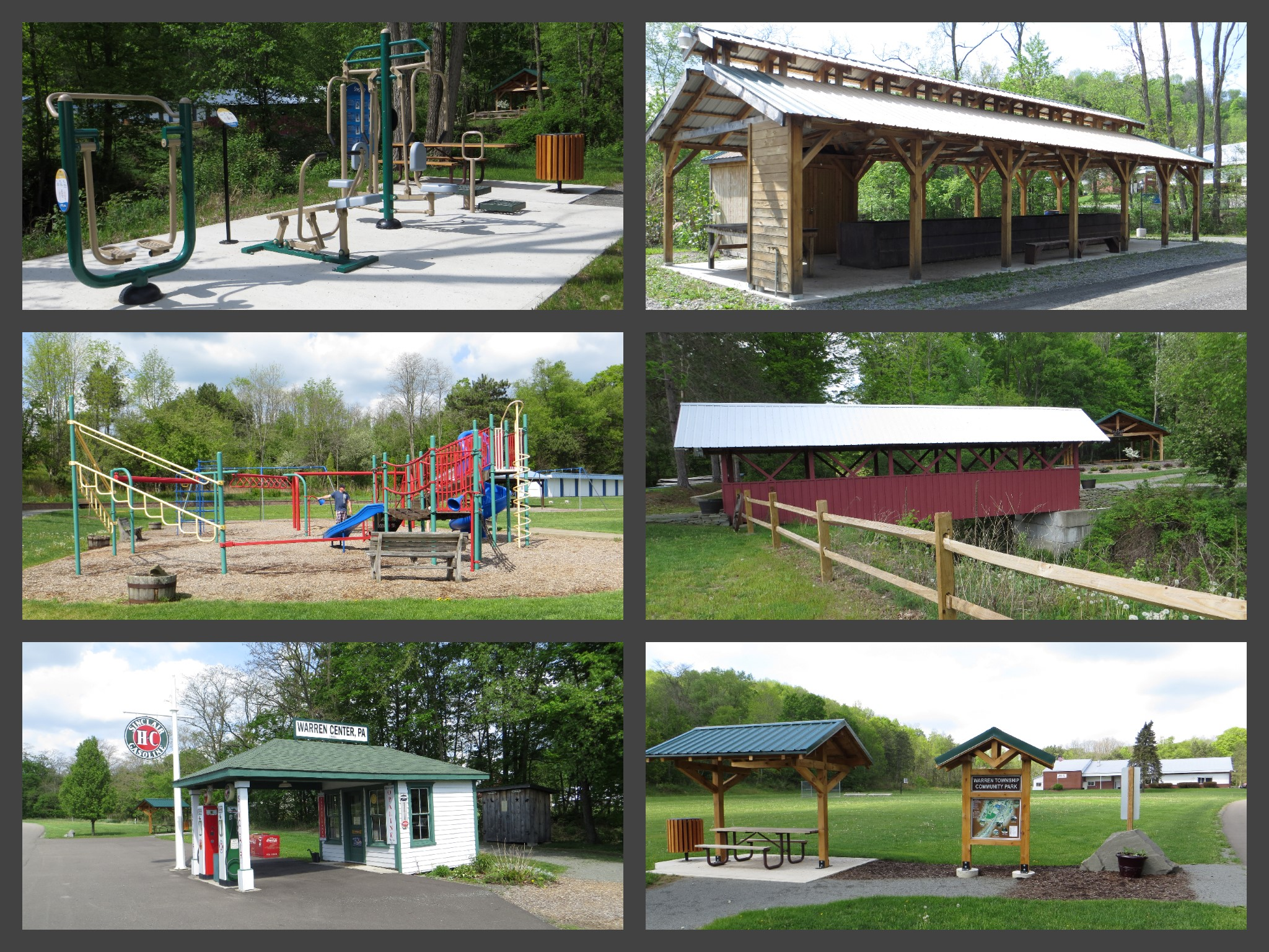 Township Park Collage
